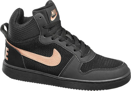 NIKE Fekete W COURT BOROUGH MID PREM.sneaker