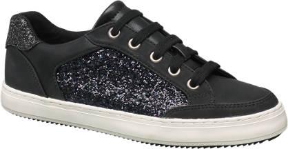 Graceland Fekete flitteres sneaker