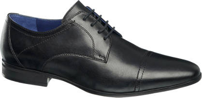 Am Shoe Fekete fűzős cipő
