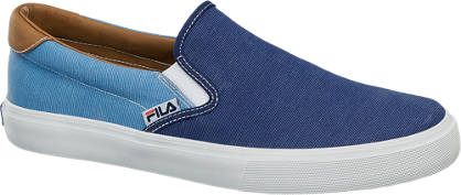 Fila Blauwe slip-on canvas