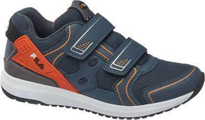 Fila Donkerblauwe sneaker klittenbandsluiting