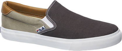 Fila Grijs/beige slip-on canvas