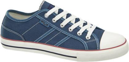Fila blauwe sneaker canvas