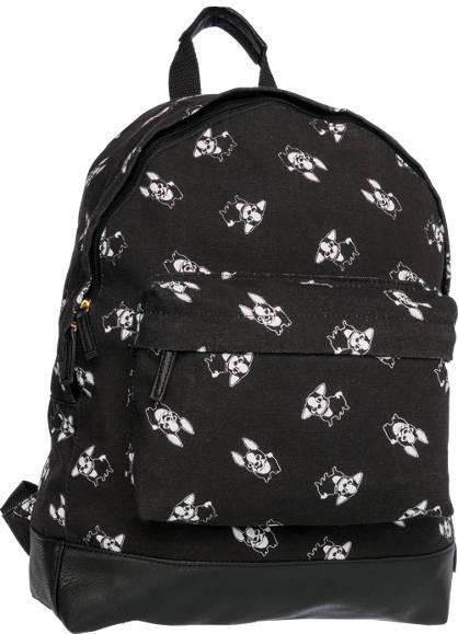 French Bulldog Print Backpack
