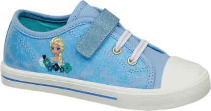 Frozen Blauwe sneaker print