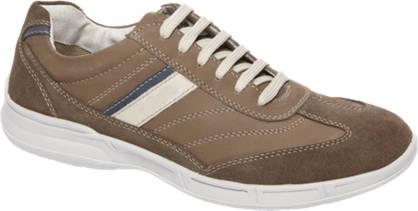Gallus Bruine leren casual sneaker