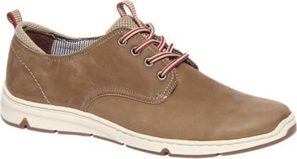 Gallus Bruine leren comfort sneaker