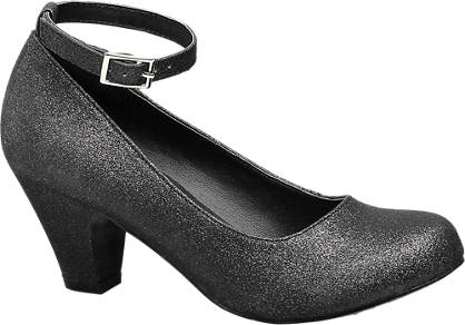 Graceland Glitter Party Heel (Sizes 4 & 5)