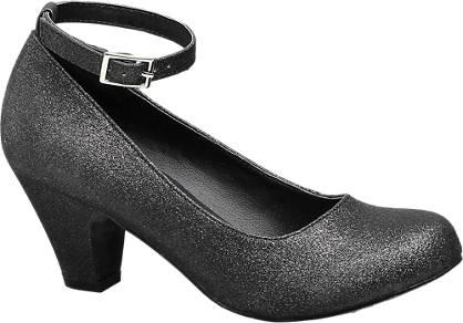 Graceland Glitter Party Heel (Sizes 13-3)