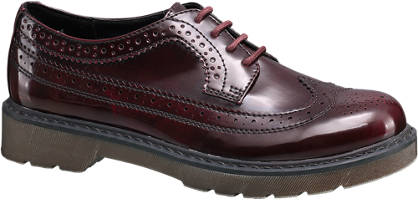 Graceland Lace up Chunky Brogues