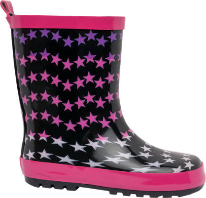 Star Print Welly