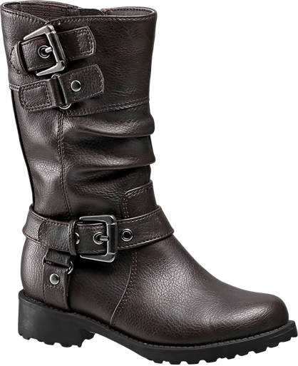 Cupcake Couture Buckle Detail Boot