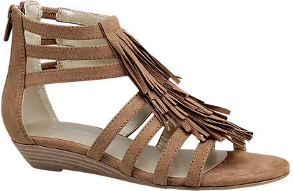 Graceland Fringe Sandal