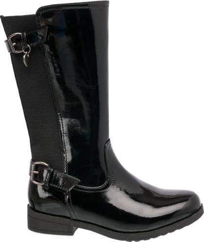 Graceland Long Leg Patent Boot
