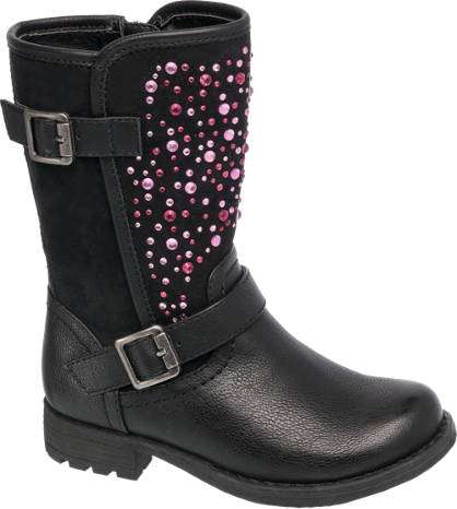 Cupcake Couture Pink Sparkle Boot