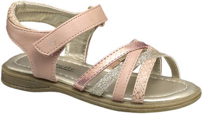 Cupcake Couture Snake & Glitter Strap Sandal