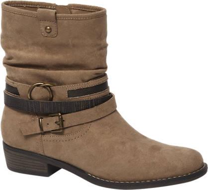 Graceland Beige western boot sierbandjes