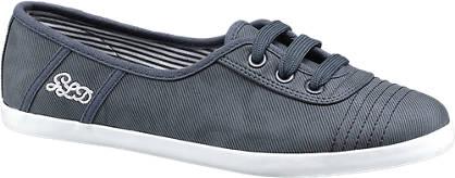 Graceland Blauwe instap sneaker