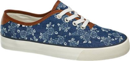 Graceland Blauwe sneaker print