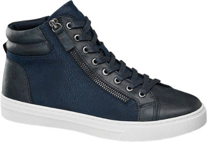 Graceland Donkerblauwe sneaker sierrits