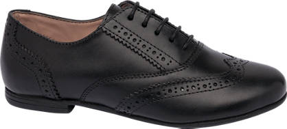 Graceland Leather Brogue Shoe