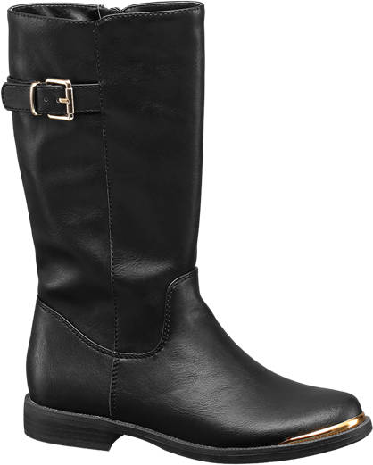 Graceland Long Buckle Boot