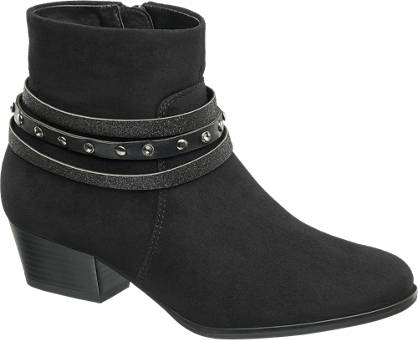 Graceland Strap Detail Ankle Boot