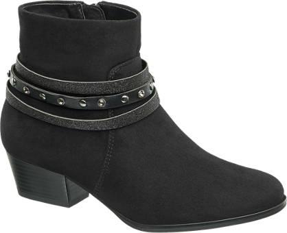 Graceland Strap Detail Ankle Boot