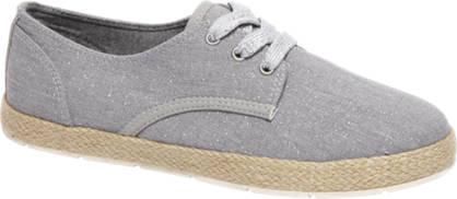 Graceland Grijze sneaker glitter