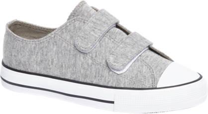Graceland Grijze sneaker klittenband