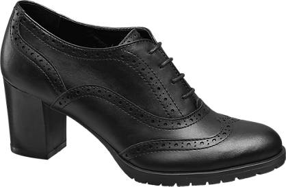 Graceland Lace-up Heeled Brogues