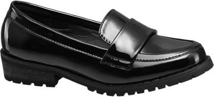 Graceland Cleated Sole Patent  Loafer