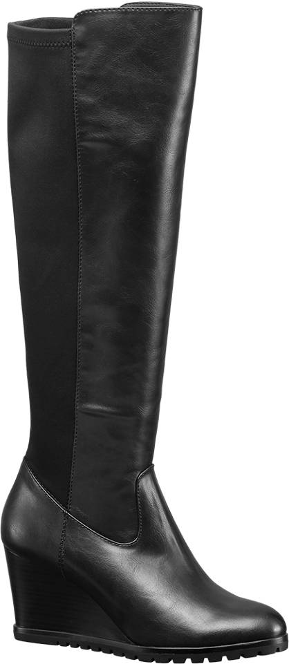 Graceland High Leg Wedge Boots