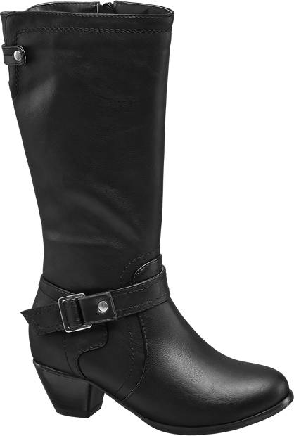 Graceland Long Leg Heeled Boot