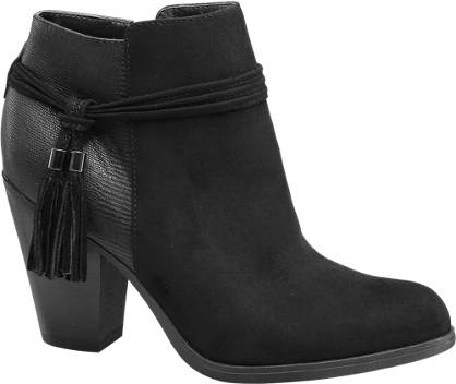 Graceland Tassel Trim Ankle Boots