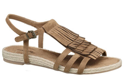 Graceland Fringed Sandals
