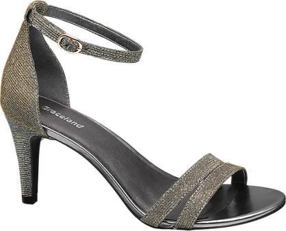 Graceland Ankle Strap Heeled Sandals