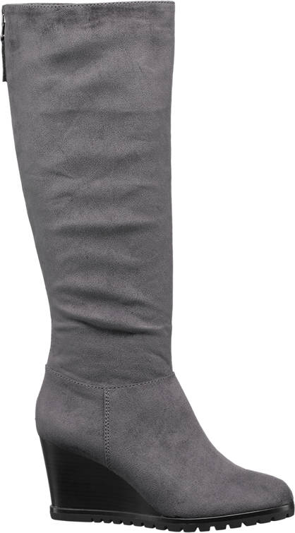 Graceland Wedge High Leg Boots