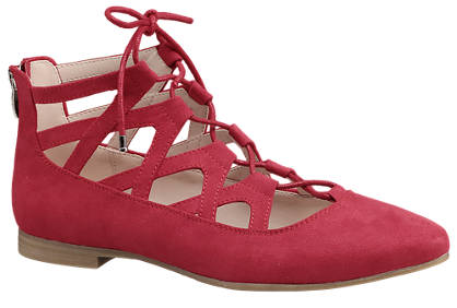 Graceland Ghillie Lace-up Ballerinas