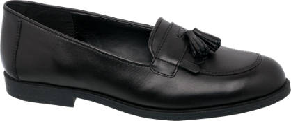 Graceland Leather Tassel Loafer