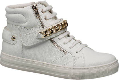 Graceland Chain Detail Hi Tops