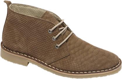 Graceland Premium - Taupe desert boot leer