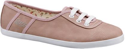 Graceland Roze instap sneaker