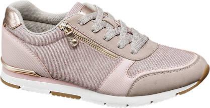 Graceland Roze sneaker glitter