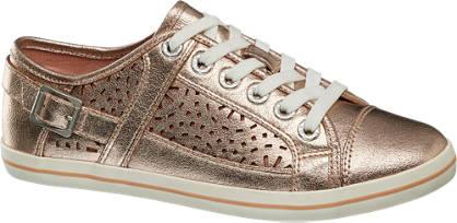 Graceland Roze sneaker perforatie