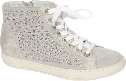 Graceland Witte sneaker perforatie