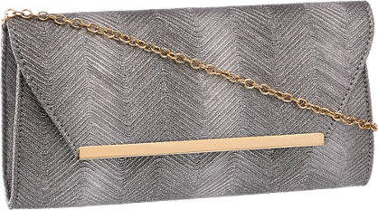Graceland Zilveren clutch