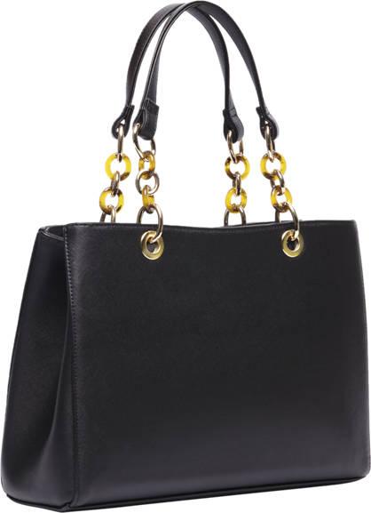 Graceland Zwarte handtas gouden details