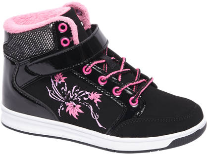 Graceland Zwarte sneaker klittenband