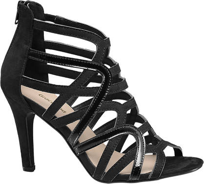 Graceland High Front Caged Sandals
